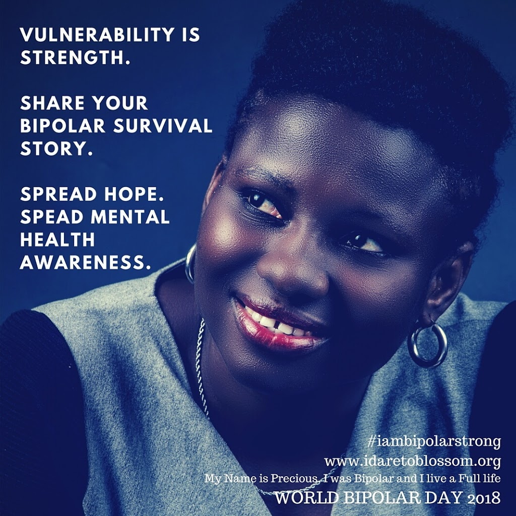 International Bipolar Day 2018: Bipolar Strong | Vulnerability is Strength